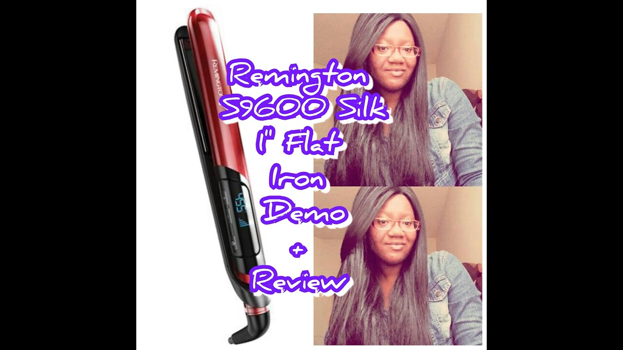 Remington S9600 Silk Flat Iron Demo Review