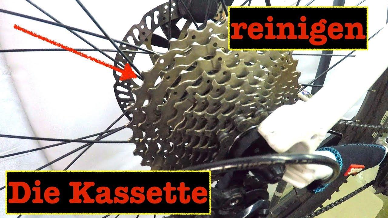 Fahrrad Kassette Reinigen