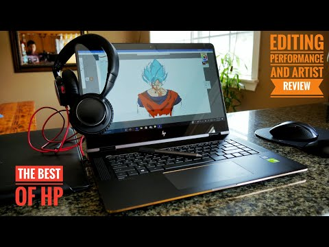 """HP Spectre x360 15.6"""" 4K (2017) Hands on Review   The best of HP"""