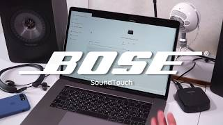 Вивчаємо можливості програми Bose SoundTouch для macOS іпк