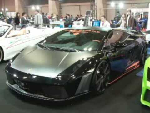 Tokyo Auto Salon 2010 Perkenalkan Lamborghini Hijau Modifikasi