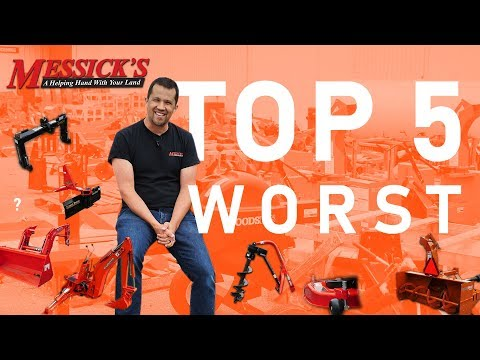 Top 5 Worst Tractor Attachments