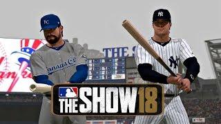 MLB 18 RTTS Joe Broadway Road To The Show (Episode 5) vs Kansas City Royals MLB 18 Road to the Show