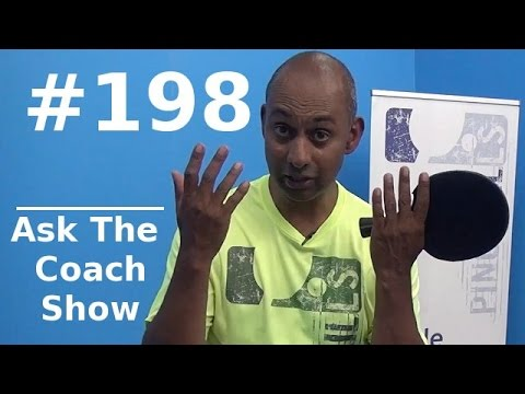 """Ask the Coach Show #198 - Receiving serves in the """"old days"""""""