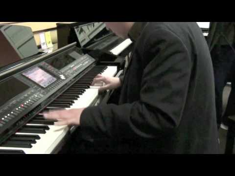 Pirates of the Caribbean (Klaus Badelt) Theme played live on Yamaha CVP509 Clavinova piano