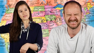 Adults Try To Pass A 5th Grade US Geography Quiz