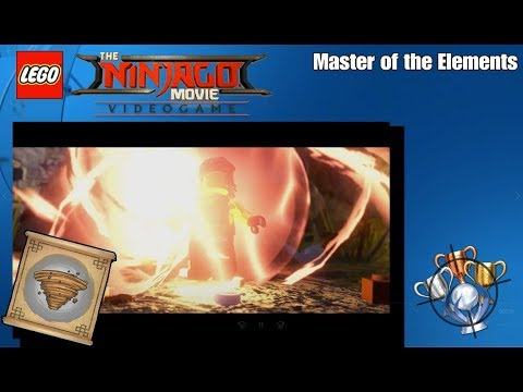 LEGO Ninjago Movie Video Game - Master of the Elements - Trophy ...