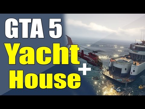 ● GTA 5 - Buying best house and Yacht !!! - Executives and other criminals DLC HYPE