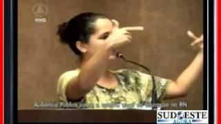 Amanda Gurgel Professora do Rio Grande do Norte