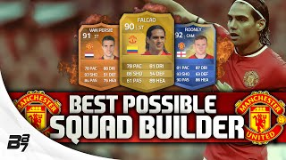 BEST POSSIBLE MANCHESTER UNITED TEAM! w/ FALCAO | FIFA 14 Ultimate Team Squad Builder