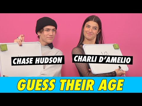 Charli D'Amelio vs. Chase Hudson - Guess Their Age