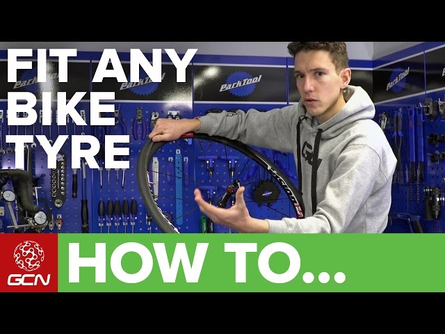 How To Fit Any Difficult-To-Fit Bike Tyre