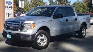 2012 Ford F-150 XLT W/ Keyless Entry, CD, Power Mirrors Review| Island Ford