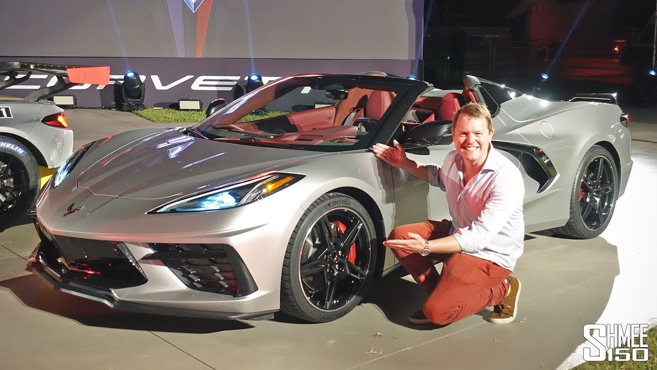 brand new corvette 2020