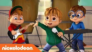 Music Monday: ALVINNN!!! Megamix #2 Sing-Along ft. The Chipettes | Nick