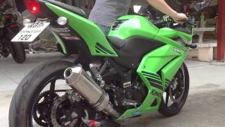 CORSE SPTB Full System for NINJA 250R by CORSE THAILAND