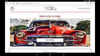 How to Rent a (Classic) Car in Cuba