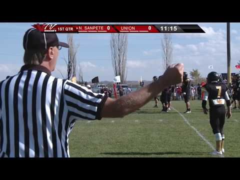 VTV Channel 6 High School Football: North Sanpete @ Union 2014