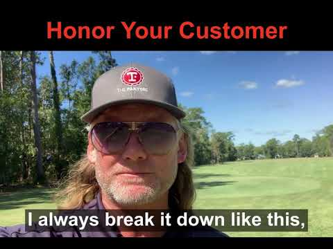 Honor Your Customer