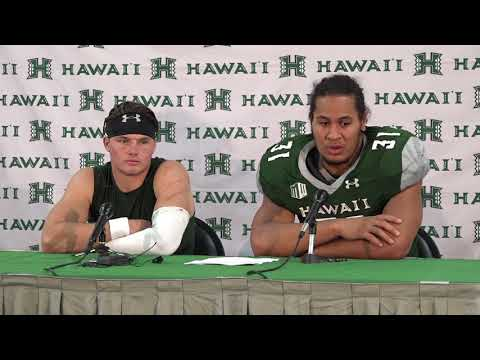 Hawaii Football Post Game Players Press Conference vs. Colorado State 9-30-17