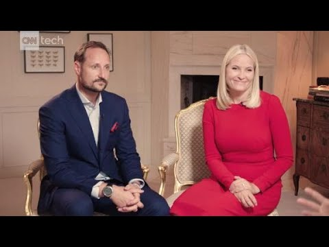 Prince, Princess of Norway want to build Oslo's tech scene
