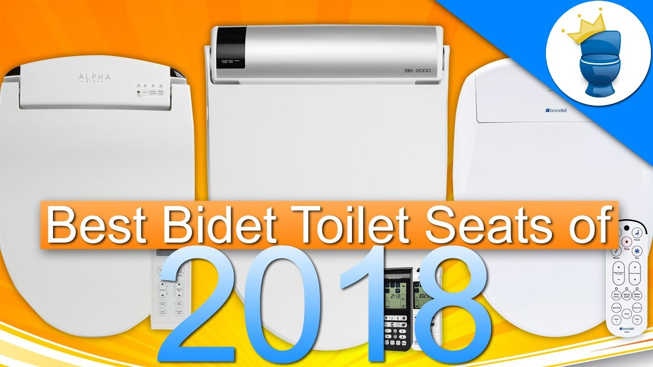 6 Best Bidet Toilet Seats Of 2018 Bidetking Com Youtube