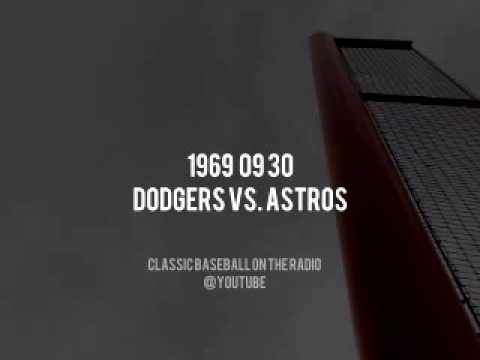 1969 09 30 Dodgers vs Astros Vin Scully Complete Radio Broadcast