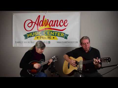 A Place in the Heart  on a Taylor Custom Shop Guitar & Gretsch Mandolin captured wRode mics