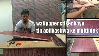 Alternatif Hpl Yaitu Wallpaper Stiker Kayu