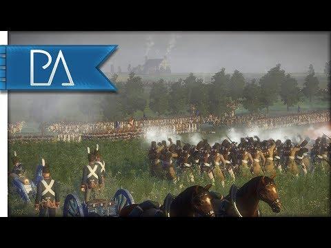 Battle of Quatre Bras: Waterloo Campaign (1815 AD) - Napoleonic: Total War 3 Mod Gameplay