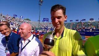 Dominic Thiem inscribió por segunda vez su nombre en el trofeo del Argentina Open