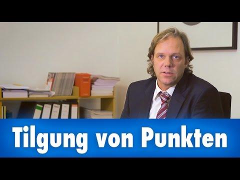 wann werden punkte gel scht bzw getilgt anwalt dr hartmann aus oranienburg ber t youtube. Black Bedroom Furniture Sets. Home Design Ideas