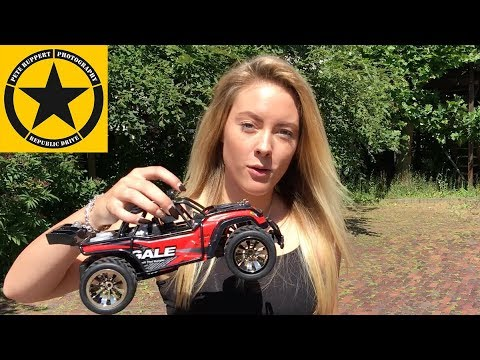 Toys for Christmas RC Race Truck 2.4GHz 50M 2WD / SUBOTECH Gale Buggy RC 1/16 Review