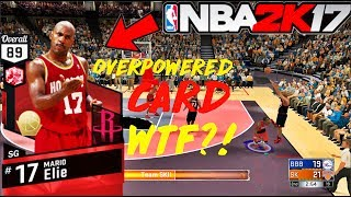 OVERPOWERED SHOOTING RUBY CARD RAGE QUIT !!! | NBA 2K17 MYTEAM GAMEPLAY