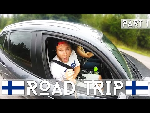 Road Trip In Finland! | Part 1 | Dave Cad