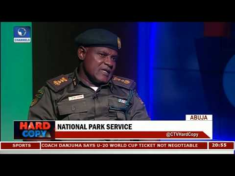 Upgrading National Park Service To Para-military Organisation A Moral Booster - Goni |Hard Copy|