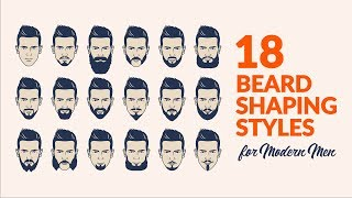 Beard Trimming Styles | How To Shape A Beard | Beard Grooming And Trimming Tips. A Guide To Shave