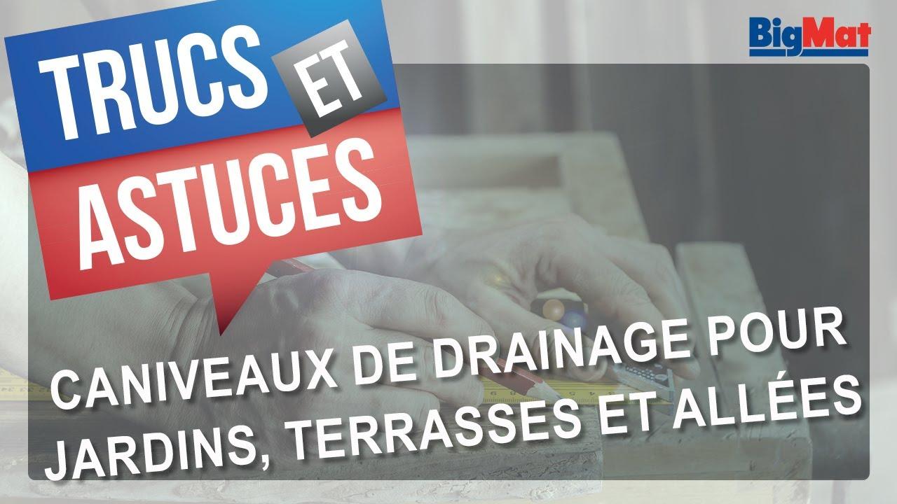 Caniveaux De Drainage Pour Jardins, Terrasses Et Voies Du0027accès