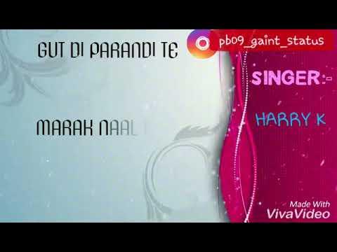 Left seat song || Harry khurana || Harry k || new punjabi song left seat