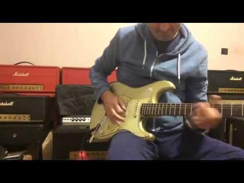 '65 Fender Stratocaster Inca Silver on '68 Marshall JMP 50 Plexi(crunch)