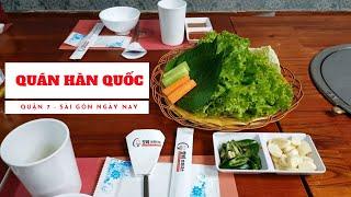 Đến Phú Mỹ Hưng quận 7 (Quận nhà giàu) ăn món Ngon Hàn Quốc