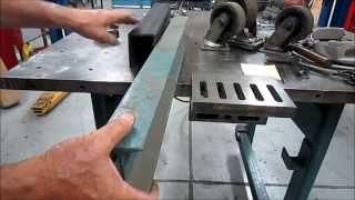 Tool Time 33   Welding Table Mobility