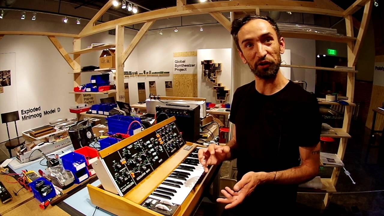 Moog Reintroduces The Minimoog Model D Youtube