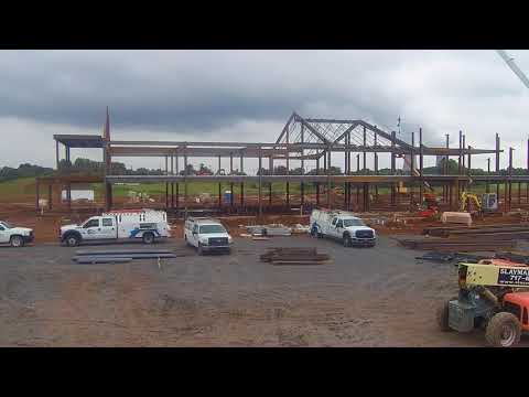 East Coventry Elementary School Structural Installation