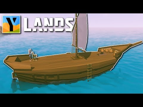 BUILDING A SHIP! - YLands Gameplay - Ylands Building & Exploration!