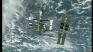Space Shuttle STS-115 ISS Undock