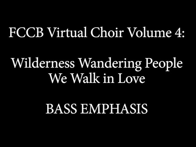 Virtual Choir 4 Singalong bass