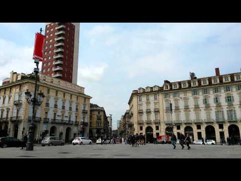 Watch 30 Minutes of Piazza Castello Torino Italy 2015