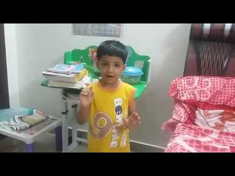 Rhyme competition first prize class Hkg Samarth agarwal