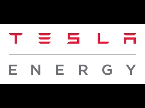 Tesla Energy.